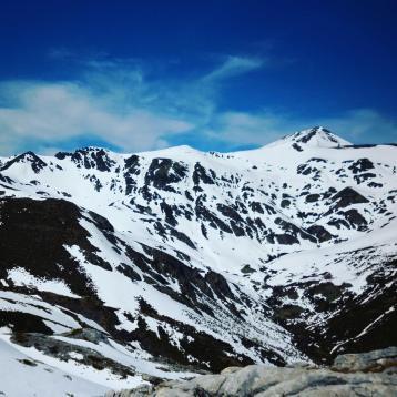 Pico Murcia desde N Espigüete